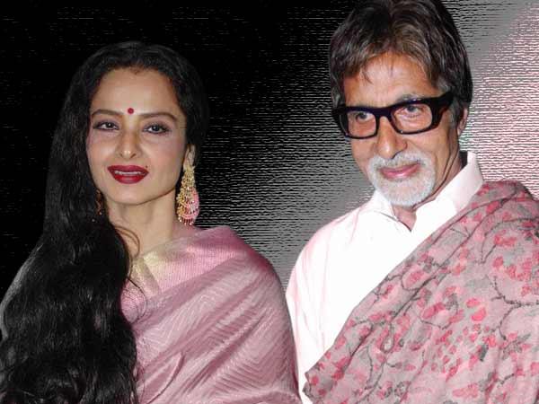 Amithab and Rekha
