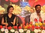 Dhanush and Akshara Hassan