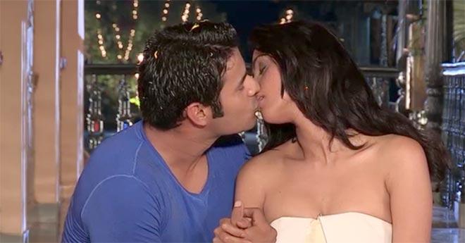 Mallika Sherawat and Himanshu Malik Kiss Scenes  in Khwahish