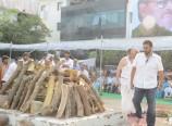 Ramanaidu Funeral Photos