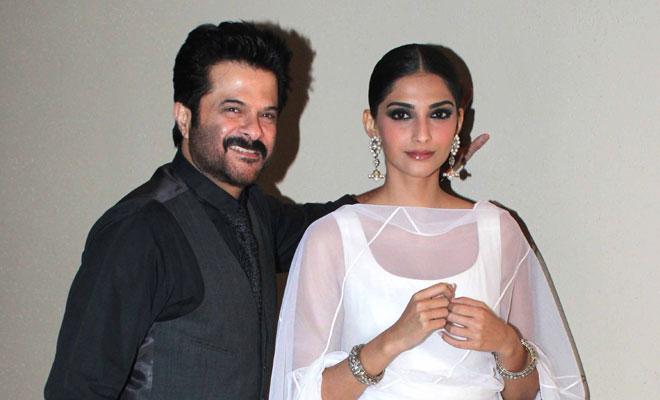 Anil Kapoor and Sonam