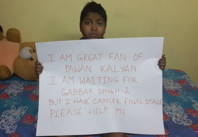 Cancer Patient Waiting for Gabbar Singh 2