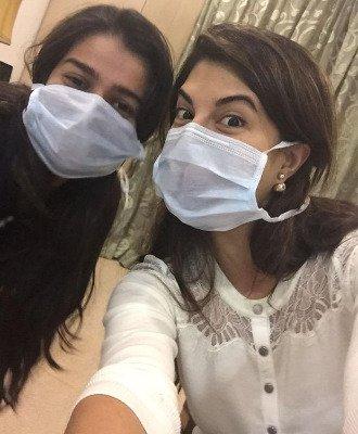 Jacqueline Selfie with Sonam