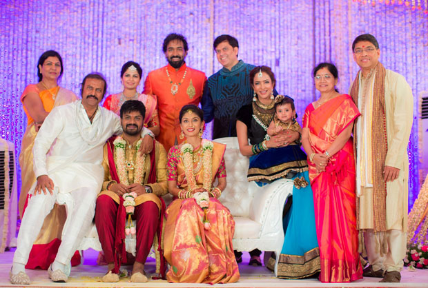 Manchu Family at Engagement
