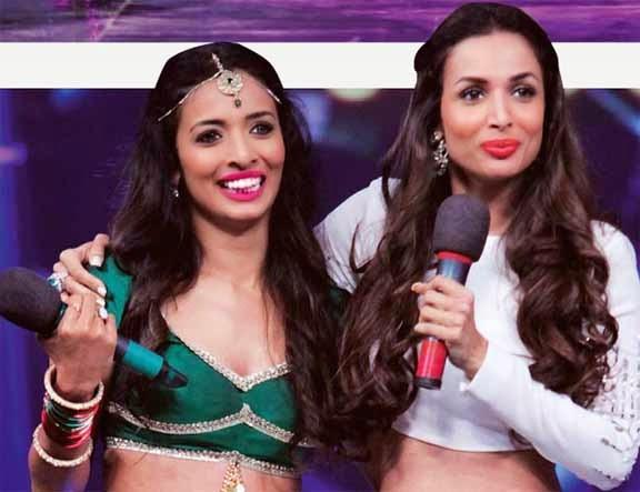 Malaika Arora with her look alike Pooja