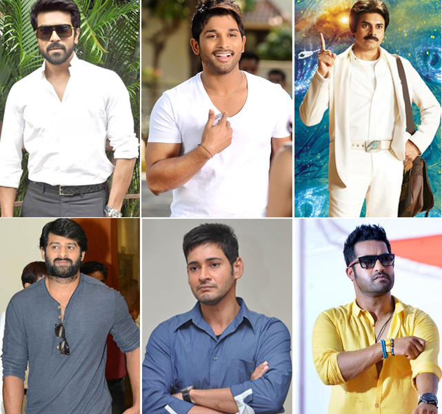 Tollywood Heroes Hits and Flops