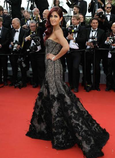 Katrina at Cannes Festival
