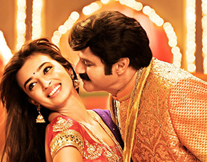 Radhika Apte and NBK in Lion