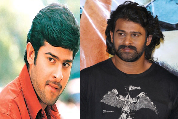 Prabhas Then and Now