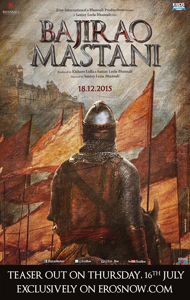Bajirao Mastani Movie First Look Poster