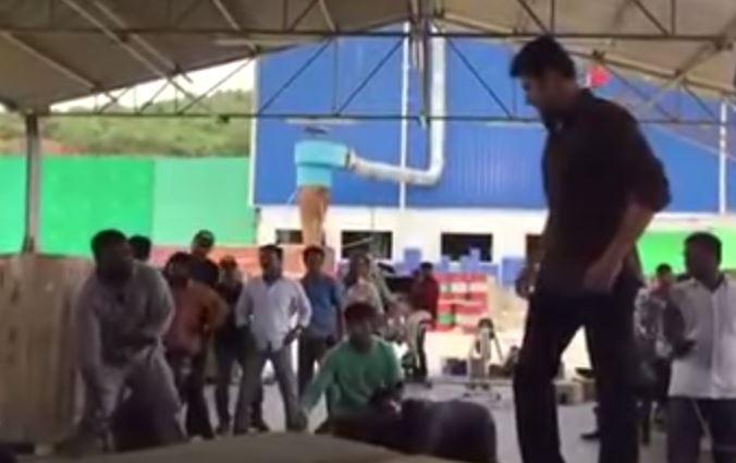 Mahesh Babu Real Stunts For Srimanthudu