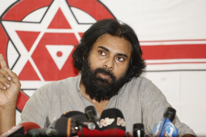 Pawan Kalyan Still at Political Pressmeet