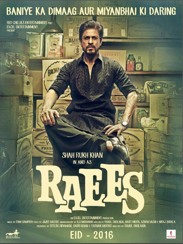Raees Movie First Look Poster