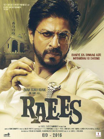 SRK First Look in Raees