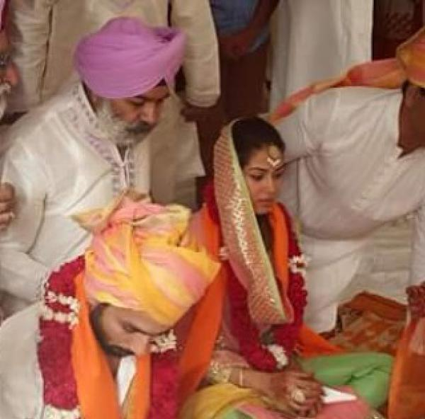 Shahid Kapoor got married with Rajput