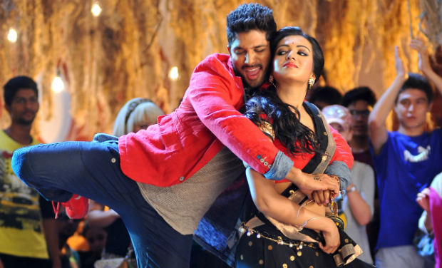 Allu Arjun and Catherine Tresa