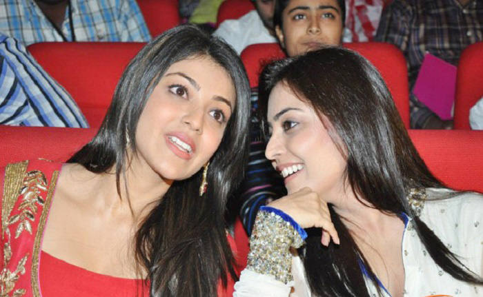 Kajal and Nisha Aggarwal
