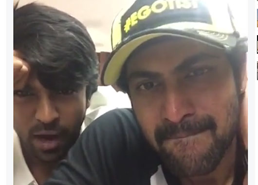 Ram Charan and Rana in Brothers Remake