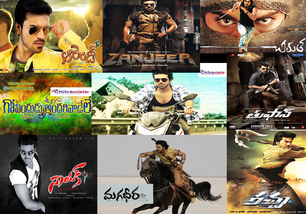 Ram Charan Movie list