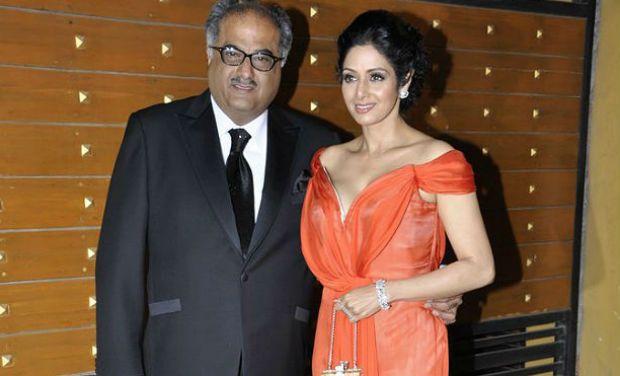 Sridevi and Boney Kapoor Wedding