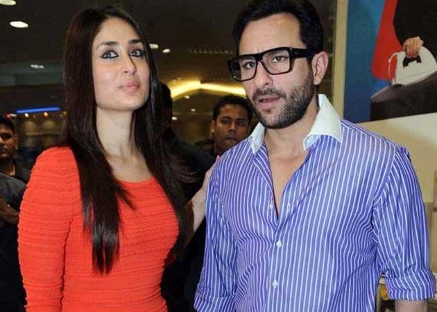 Saif and Kareena Kapoor Wedding
