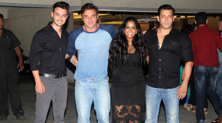 Salman Khan Sister Arpitha Birthday Party