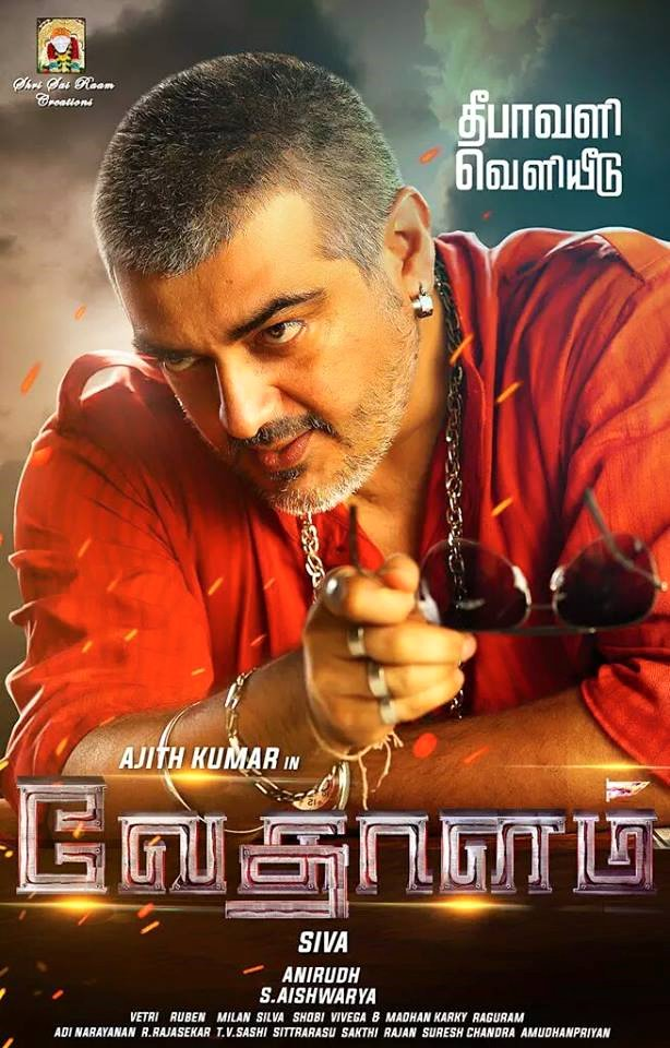 Ajith Kumar First Look in Vedhalam