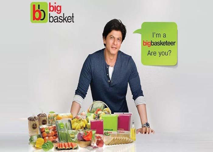 Shah Rukh Khan Big Basket