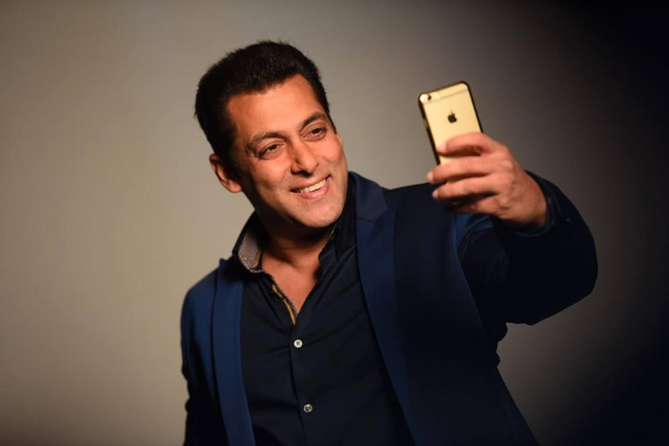 Salman Khan on Fake Facebook Page