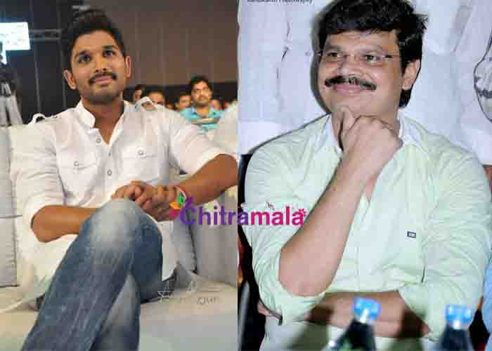 Allu Arjun and Boyapati Srinu