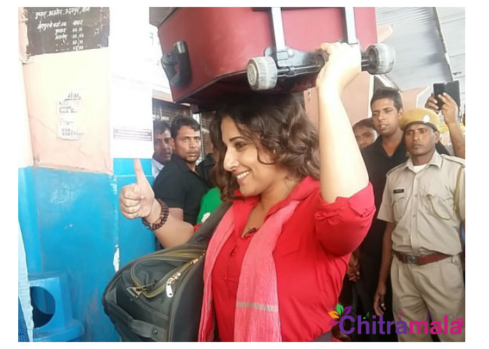 Vidya Balan becomes Coolie for Mission Sapne