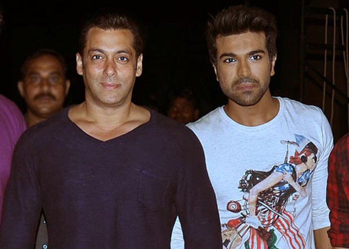 ram charan and salman khan