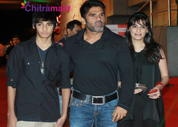 Salman Khan to launch Sunil Shetty Son