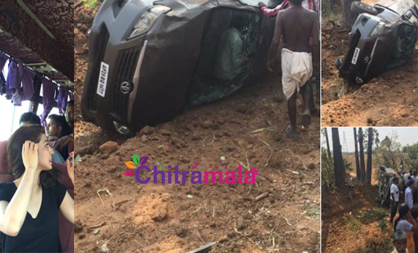 Pranitha Accident