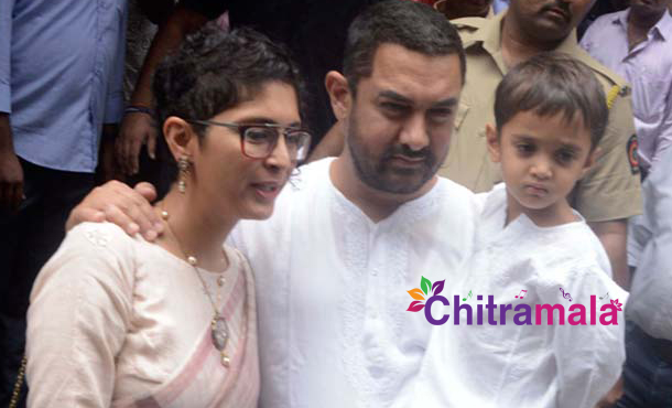Birthday Gift to Aamir Khan From His Son