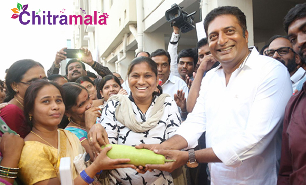 Prakash Raj Distributing Vegetables