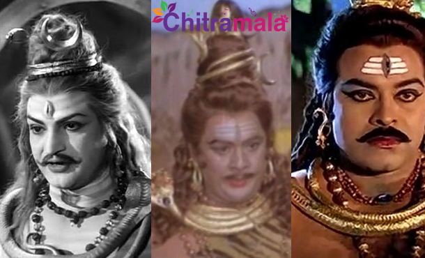 Tollywood Actors in Lord Shiva Getup