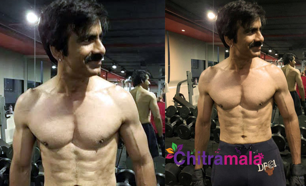 Ravi Teja Six Pack Body