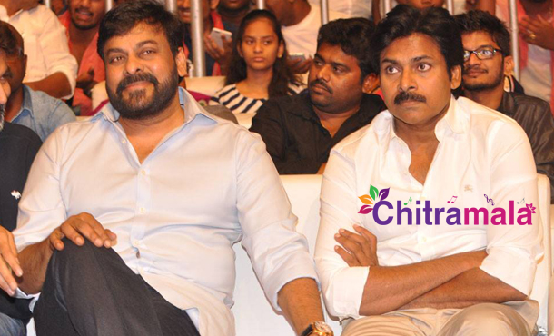 Pawan Kalyan and Chiranjeevi
