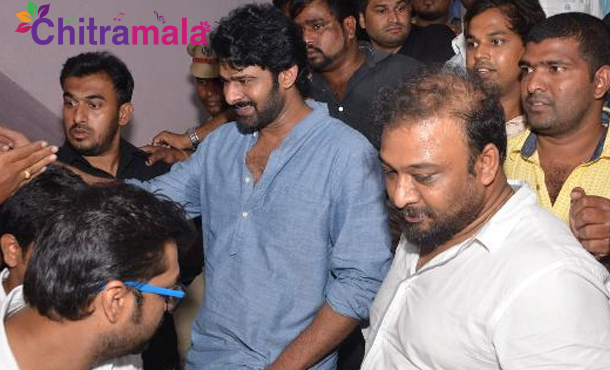 Meet and Greet Time for Prabhas
