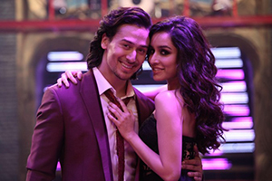 A Still from Baaghi movie