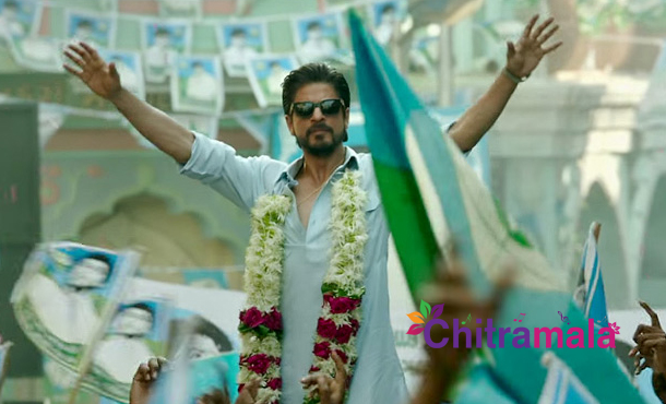 SRK Completes Raees Shooting