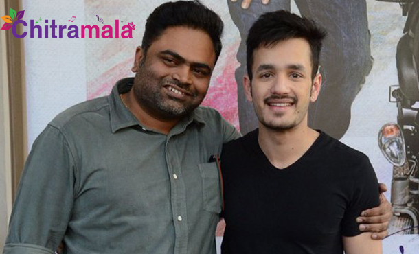 Vamsi Paidipally Out from Akhil Movie