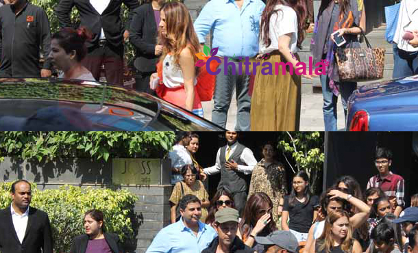 Hrithik Roshan and Sussanne Khan Partytime