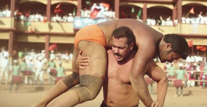 Salman Khan in Sultan Trailer