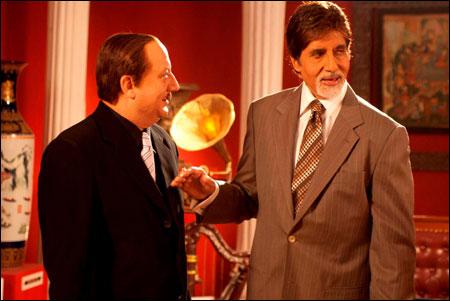 Amitabh in mr.bhatti on chutti