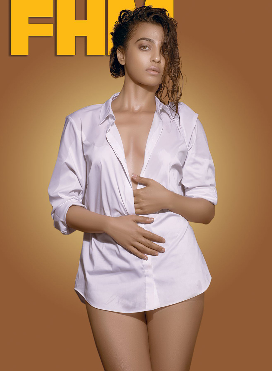 Radhika Apte Hot Pose for FHM