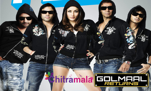 Ajay in Golmaal Returns