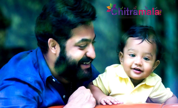 Ntr with his son abhay