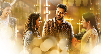 Nithin and Samantha in A Aa